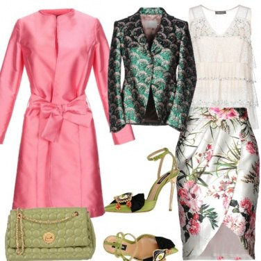 Outfit Fantasia tropicale invernale