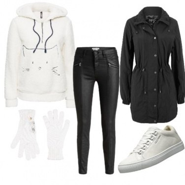 Outfit Cat sporty style