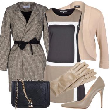Outfit Chic nei toni neutri