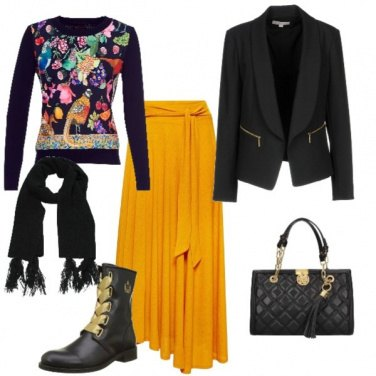Outfit Yellow winter