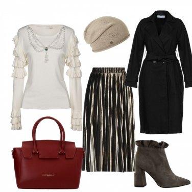 Outfit La gonna plisse\'