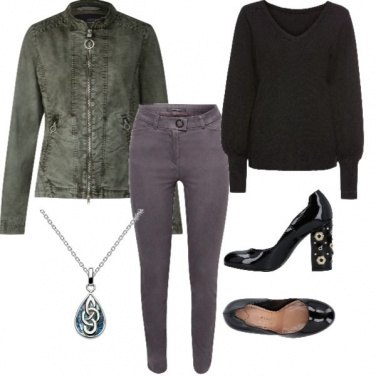 Outfit Biker style