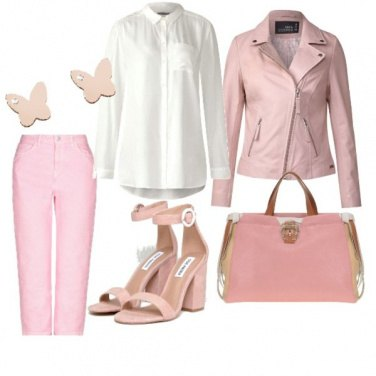 Outfit Pink style