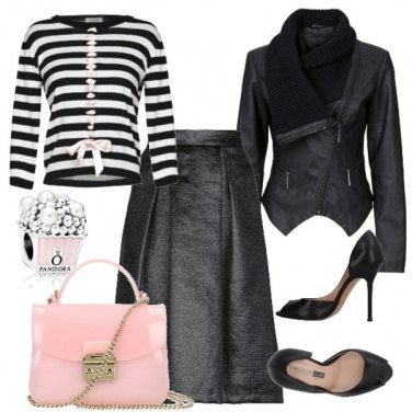 Outfit Rock & Pink