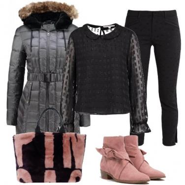 Outfit Nero per tutti i giorni