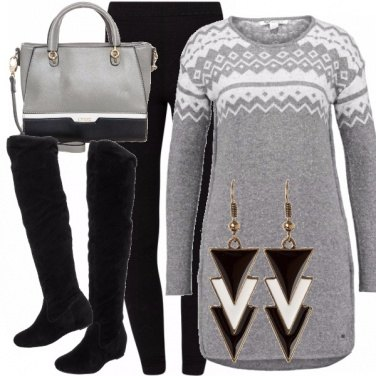 Outfit Geometrie invernali