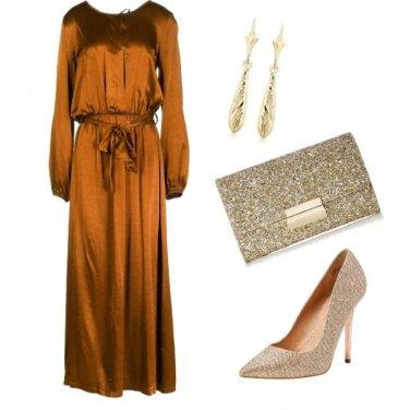 Outfit Oro brillante