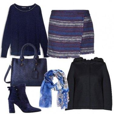 Outfit Minigonna etnica
