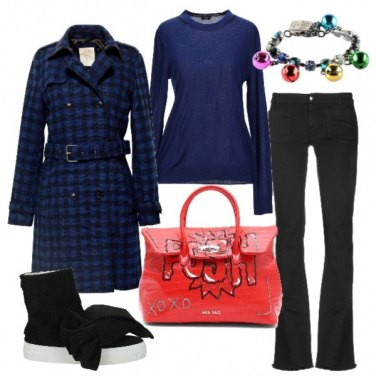 Outfit Sneakers con il fiocco