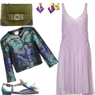 Outfit Le ballerine con le piume