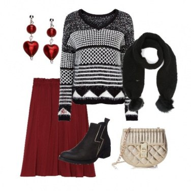 Outfit Shopping prima di Natale