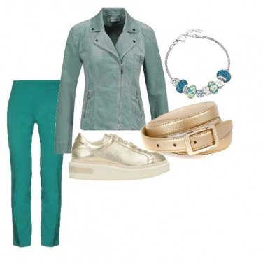 Outfit Green style