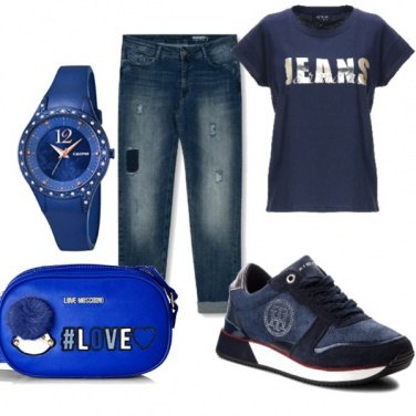 Outfit In jeans..