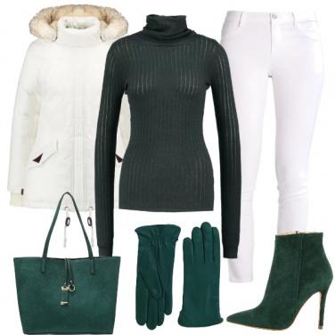 Outfit Sempre il verde