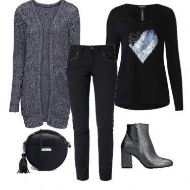 Outfit Glitter & paillettes