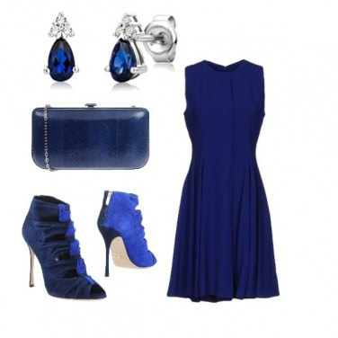 Outfit San Silvestro in blu