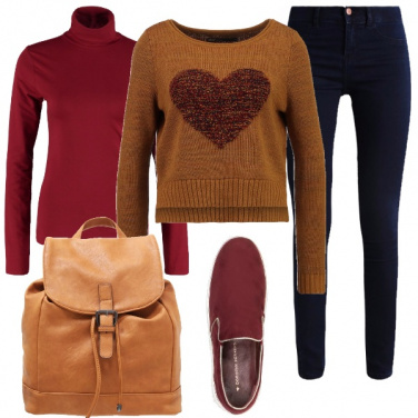 Outfit All\'università con stile