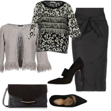 Outfit Loungette e décolleté