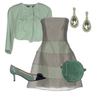 Outfit Capodanno in verde