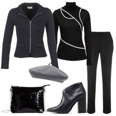 Outfit Vesti in nero