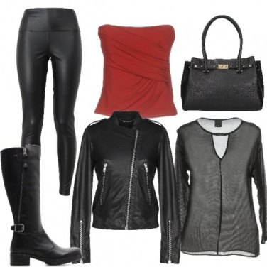 Outfit Sexy biker