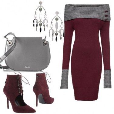 Outfit Un caldo abito fasciante