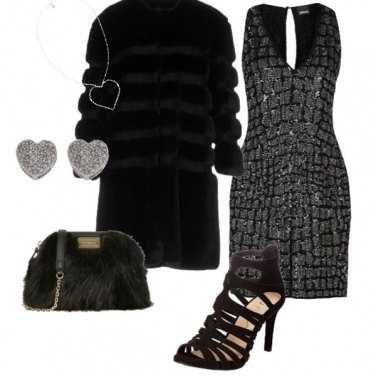 Outfit #silver Christmas