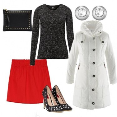 Outfit Giacca bianca