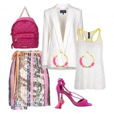 Outfit Fucsia mood