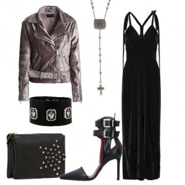 Outfit Velluto rock