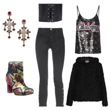 Outfit Party rock