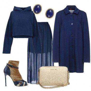 Outfit La felpa in versione chic
