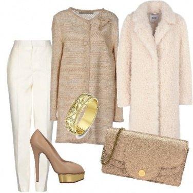 Outfit Brunch dorato
