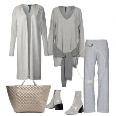 Outfit Minimal in grey