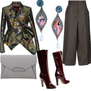 Outfit Serata a una mostra