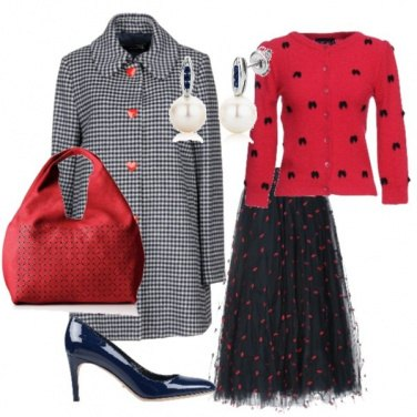 Outfit Mary Poppins in chiave moderna