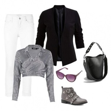 Outfit Urban rock chick chic style