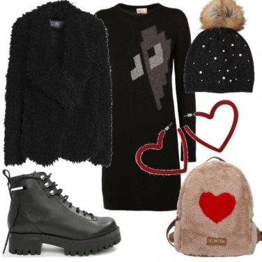 Outfit Cuori urban