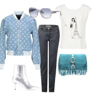 Outfit Light blu