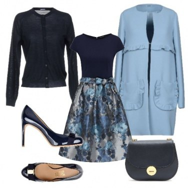 Outfit Santo Stefano in blu