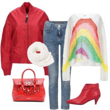 Outfit Raimbow