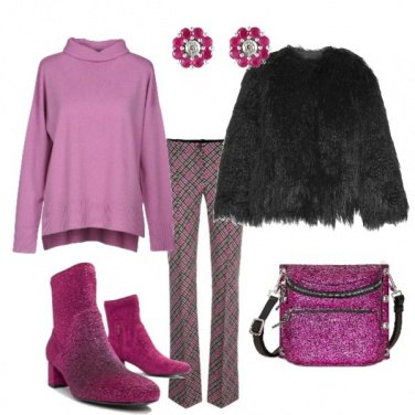 Outfit Glitter woman