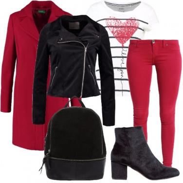 Outfit Un comodo San Valentino