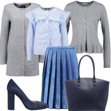 Outfit Romanticamente classica