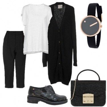 Outfit Minimal black&white