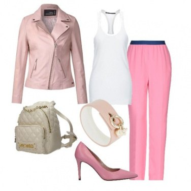 Outfit Smile pink