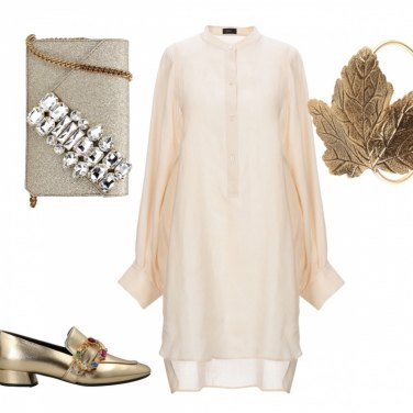 Outfit Gold christmas
