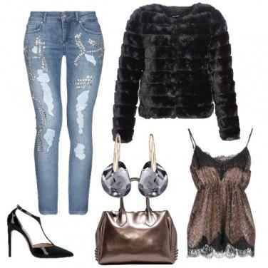 Outfit Capodanno rock