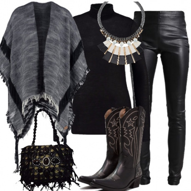 Outfit Dark texana