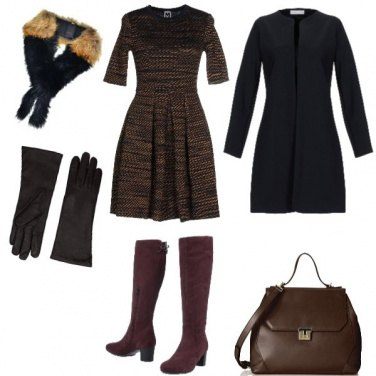 Outfit Chic, colori brown